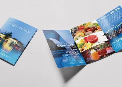 Brochure Shape Village