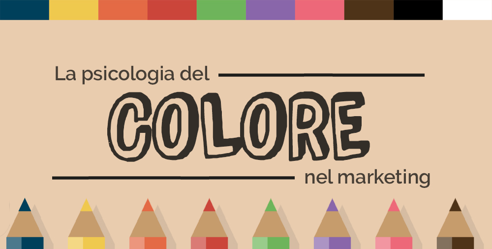 La psicologia del colore nel marketing