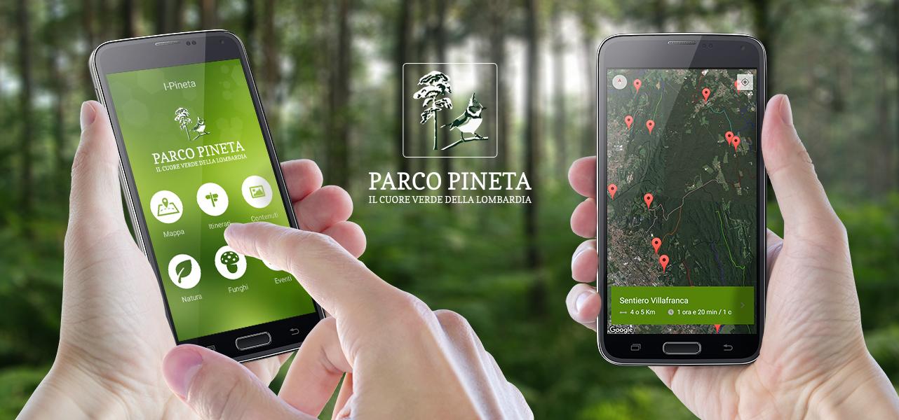 Applicazione Parco Pineta