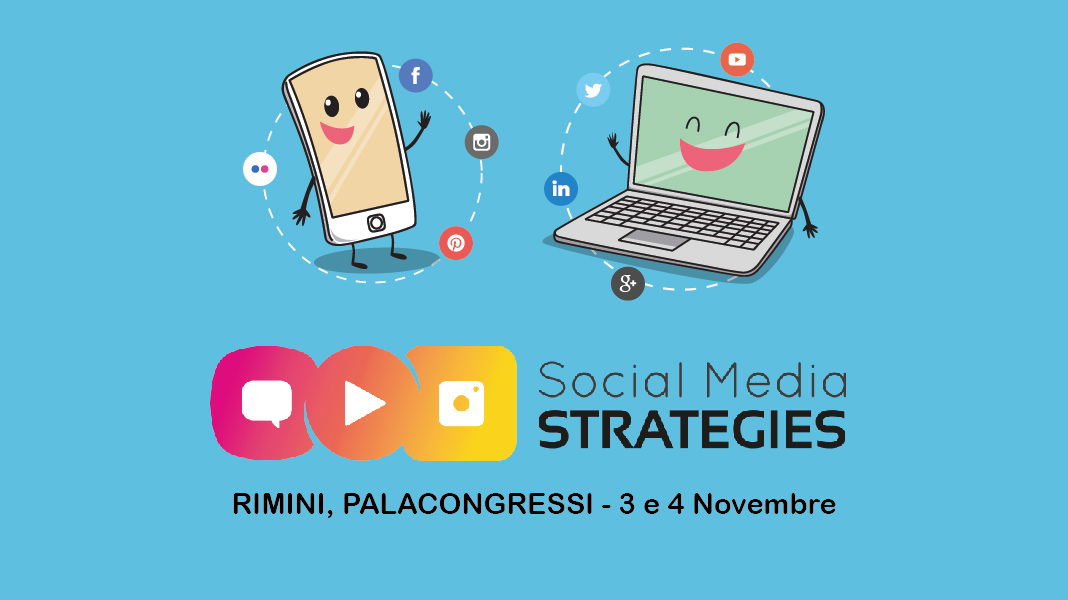 Saremo presenti alla Social Media Strategies come relatori!