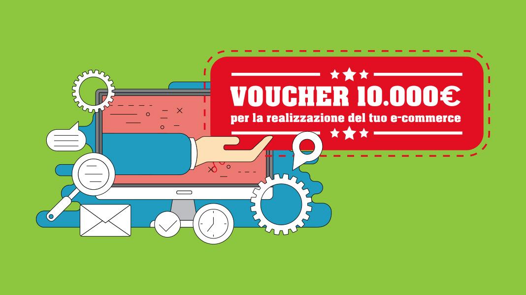 Voucher digitalizzazione: fino a 10.000 per la realizzazione di un e-commerce