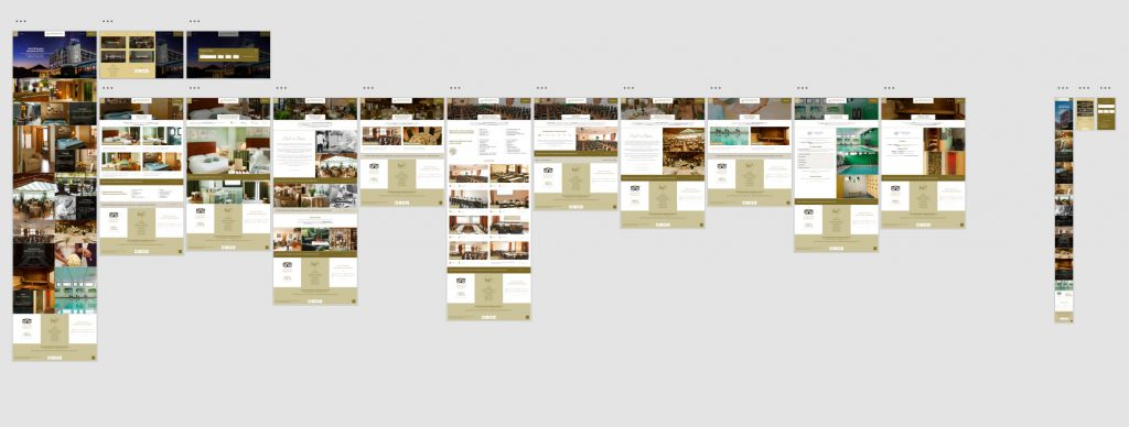 Adobe XD pages